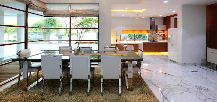 Private Bungalow, Hyderabad by Mohan Consultants