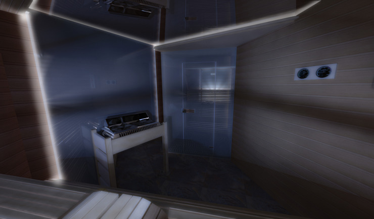 Sauna Спа в стиле модерн от Artscale Модерн