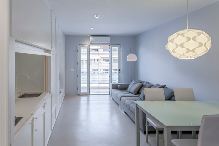 Projekty,  Salon zaprojektowane przez Esteban Rosell ,