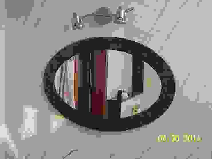Merkam - Łódź ul. Św. Jerzego 9 BathroomMirrors Batu Brown