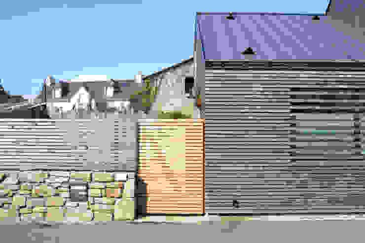 LEMON Maisons minimalistes par Bertin Bichet Minimaliste Bois Effet bois