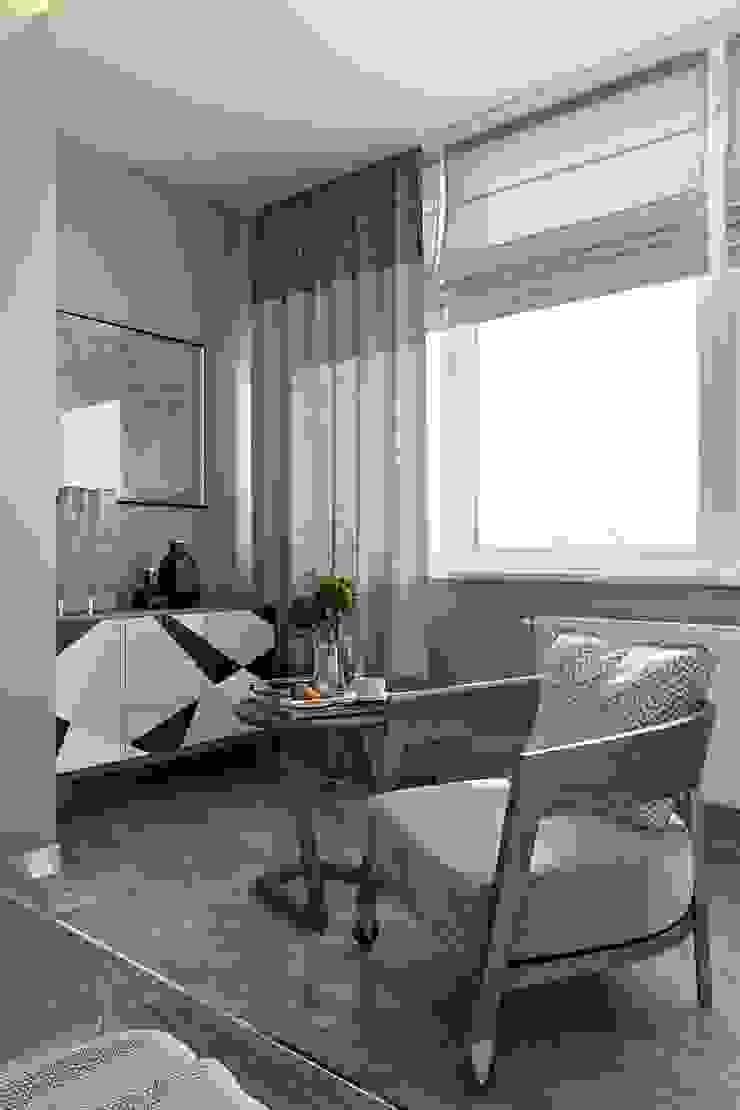 Спальня Спальня в стиле минимализм от СВЕТЛАНА АГАПОВА ДИЗАЙН ИНТЕРЬЕРА Минимализм
