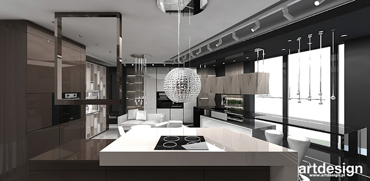 KITCHEN DESIGN IDEAS | SURMAR | Showroom od ARTDESIGN architektura wnętrz Nowoczesny