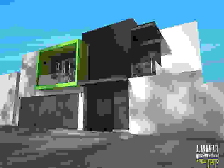 Houses by Arquitecto Alan RGA, Modern