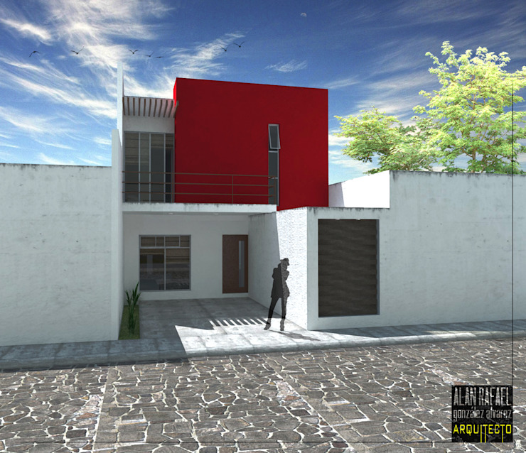 Casa F Casas modernas de Arquitecto Alan RGA Moderno