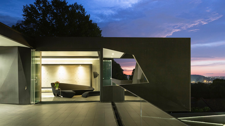 House in Kloof Road Casas modernas de Nico Van Der Meulen Architects Moderno