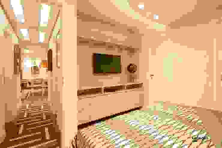 Apartamento Quartos modernos por Artenova Interiores Moderno