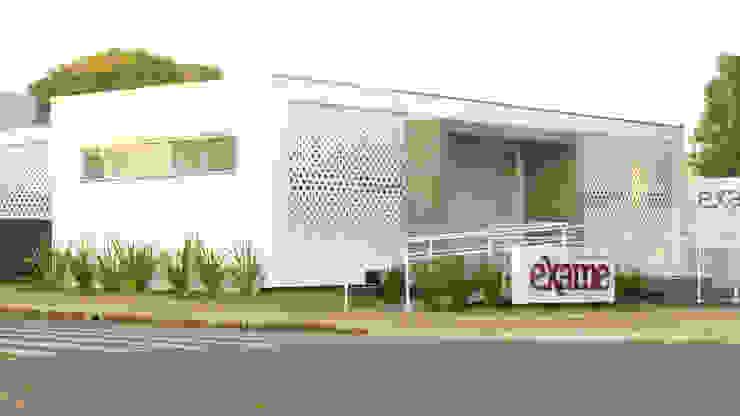 Laboratório Exame Clínicas modernas por Quattro+ Arquitetura Moderno