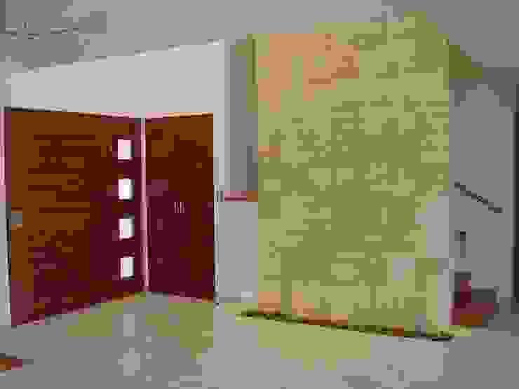 Couloir, entrée, escaliers modernes par SANTIAGO PARDO ARQUITECTO Moderne