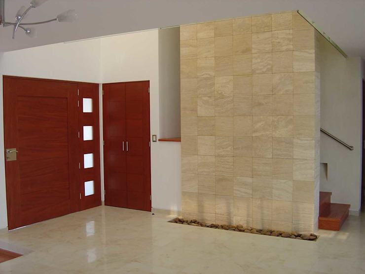 Corredores, halls e escadas modernos por SANTIAGO PARDO ARQUITECTO Moderno