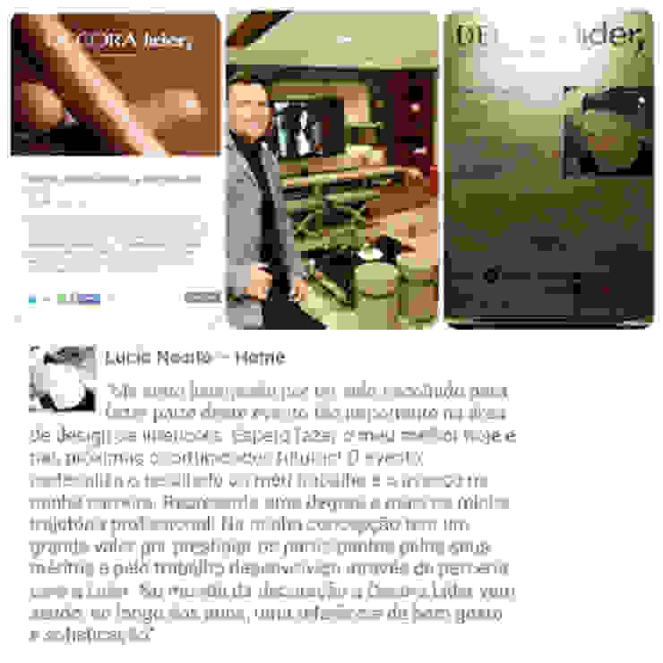 Um pouco mais sobre a mostra. por Lucio Nocito Arquitetura e Design de Interiores Moderno