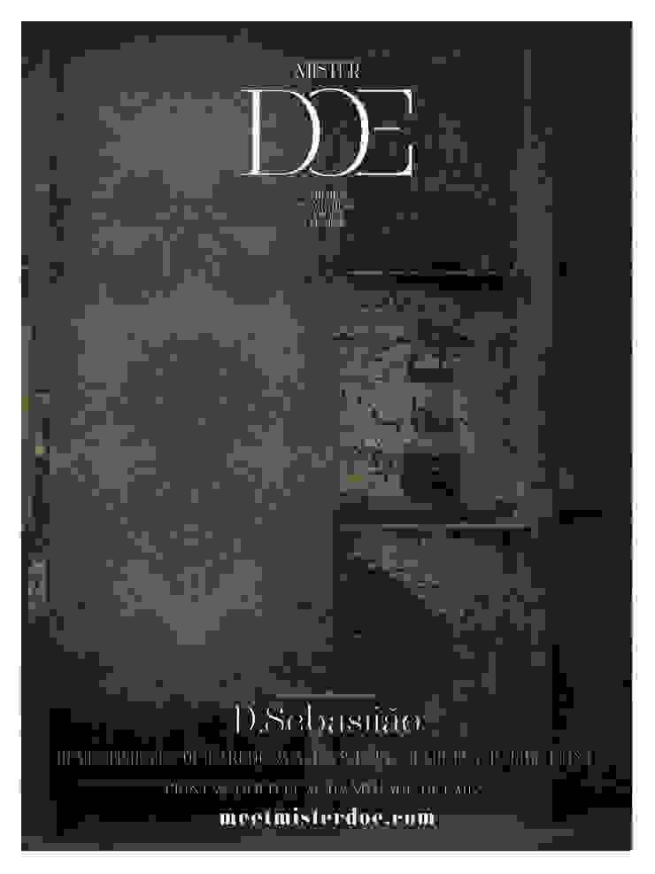 Revestimento de Parede - D. Sebastião por Mr. Doe Clássico Papel