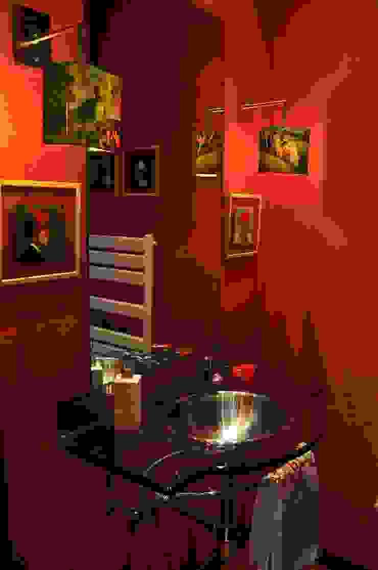 Luisa Pinho Arte e Decoração Baños de estilo moderno Rojo