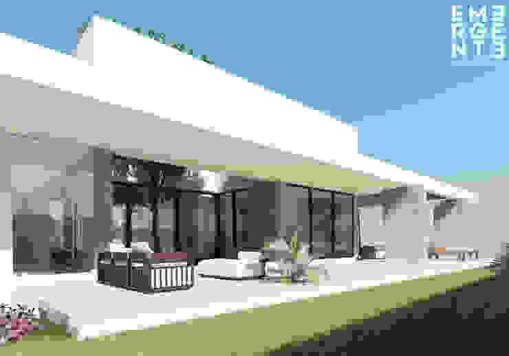 Jardines minimalistas de homify Minimalista Concreto