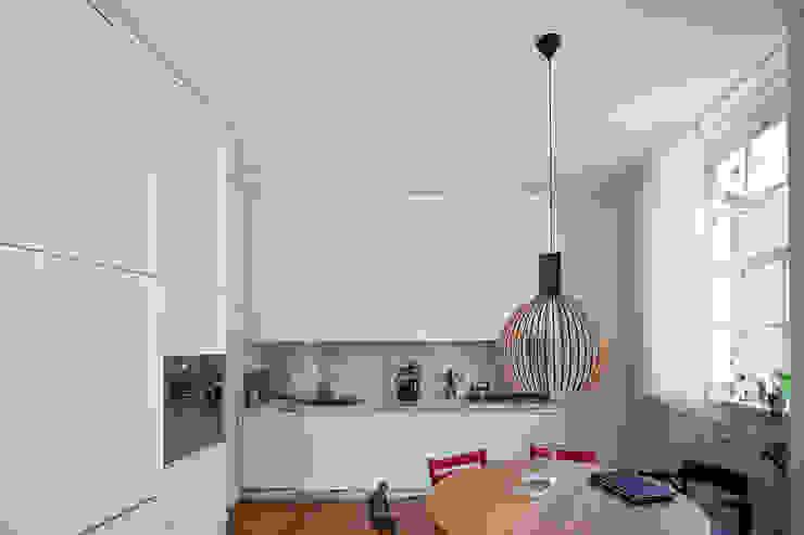Leiden House Cocinas de estilo moderno de SAMF Arquitectos Moderno