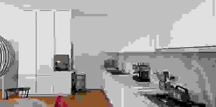 Leiden House Modern Kitchen by SAMF Arquitectos Modern
