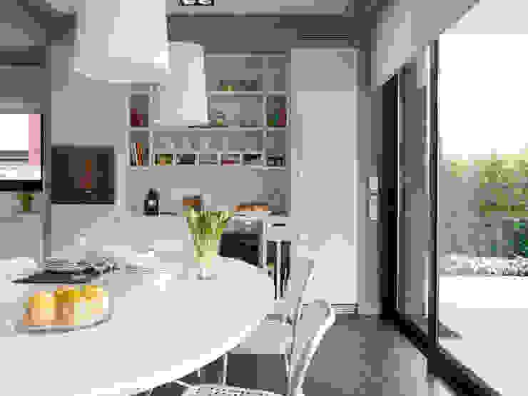 Detalle de la zona de office Cocinas de estilo moderno de DEULONDER arquitectura domestica Moderno