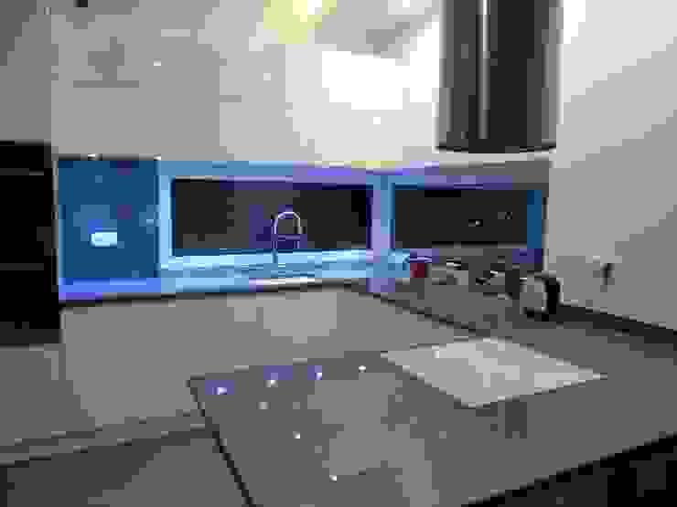 Merkam - Łódź ul. Św. Jerzego 9 KitchenBench tops Granit Blue