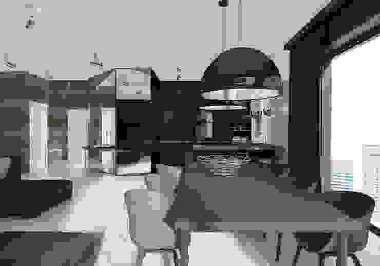 Modern Dining Room by UTOO-Pracownia Architektury Wnętrz i Krajobrazu Modern