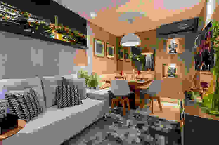 Livings de estilo moderno de Cristiane Fernandes Designer de Interiores Moderno