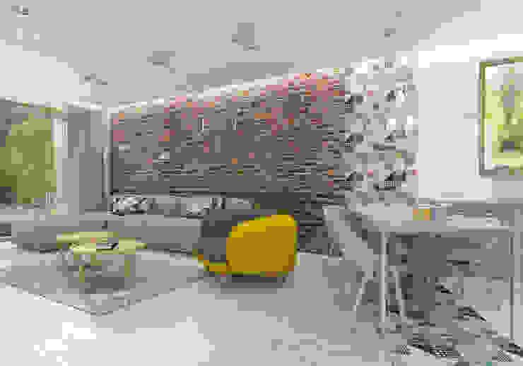 Salas modernas de UTOO-Pracownia Architektury Wnętrz i Krajobrazu Moderno
