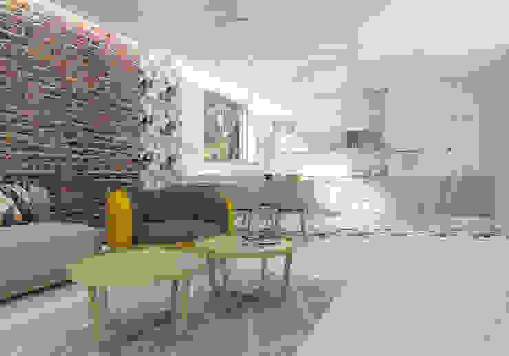 Cocinas modernas de UTOO-Pracownia Architektury Wnętrz i Krajobrazu Moderno