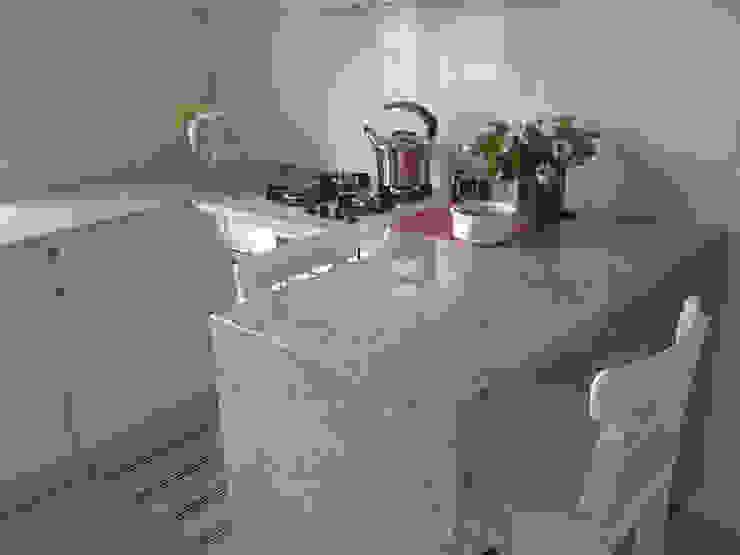 Merkam - Łódź ul. Św. Jerzego 9 KitchenBench tops Granit Grey
