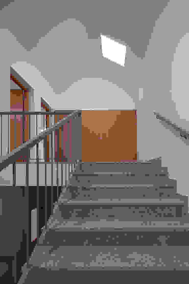 Ingresso, Corridoio & Scale in stile minimalista di Marques Franco Arquitectos Minimalista