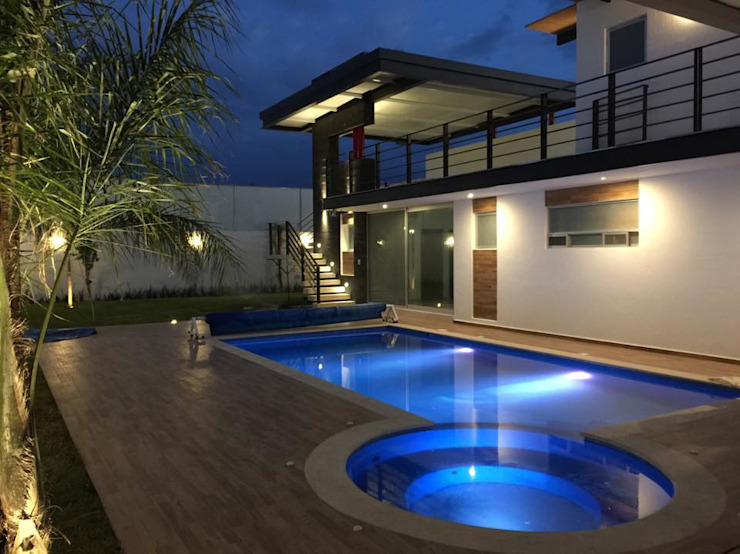 Moderne Pools von SANTIAGO PARDO ARQUITECTO Modern