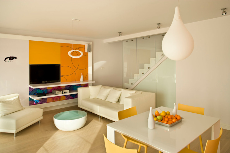 Modern Dining Room by Jeżewska & Zakrawacz Modern