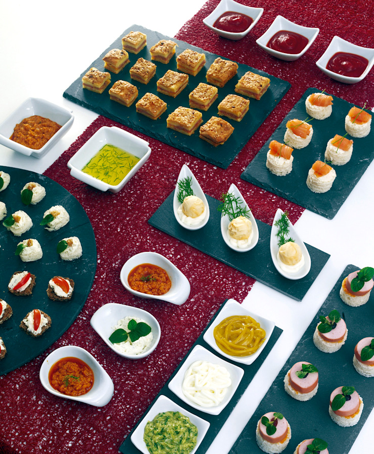 DeBORLA KitchenCutlery, crockery & glassware Slate Grey