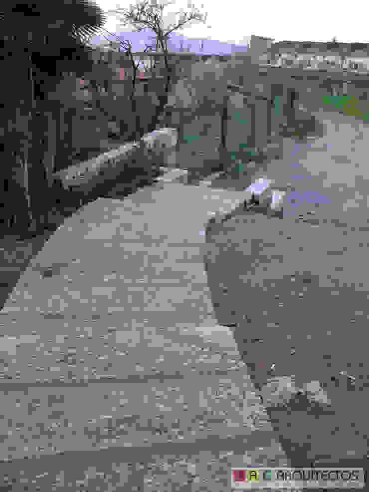 CASA OLI Varandas, marquises e terraços rústicos por AAC ARQUITECTOS Rústico