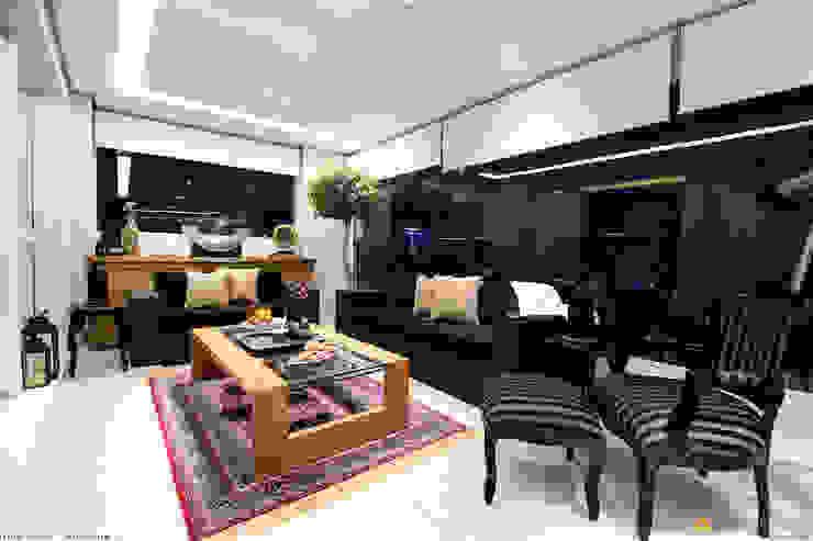 Varanda Gourmet:   por IMAGINARTE -  Arquitetura & Construção