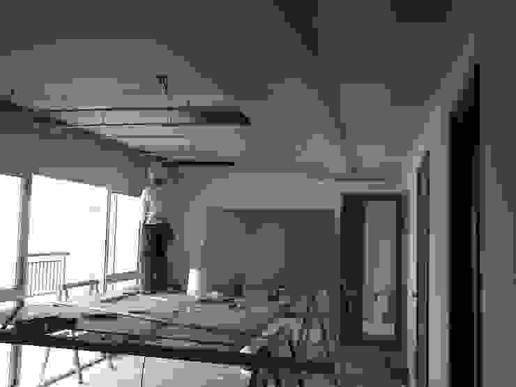 Sala de Estar e Jantar:   por IMAGINARTE -  Arquitetura & Construção