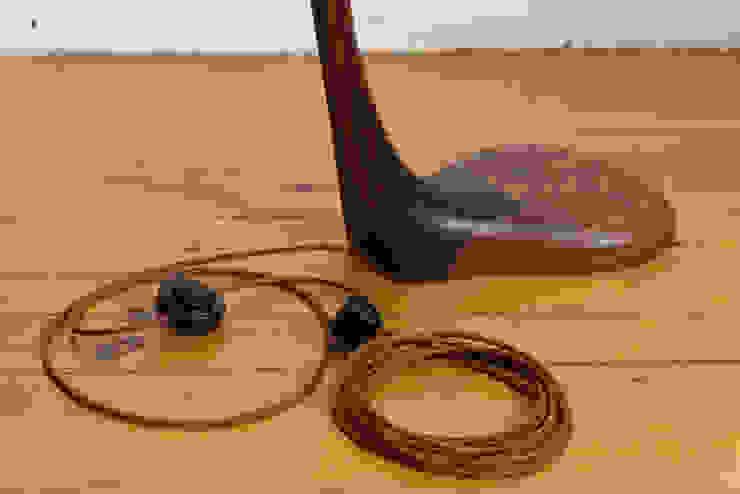 Bogenlampe DROSARIA Moderne Esszimmer von Holzarbeiten André Findeisen Modern Holz Holznachbildung