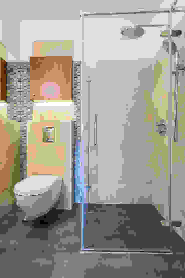 Mieszkanie z Miasteczka Wilanów Nowoczesna łazienka od Michał Młynarczyk Fotograf Wnętrz Nowoczesny
