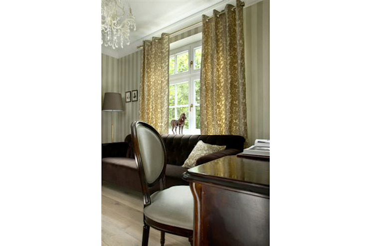 by 2kul INTERIOR DESIGN Classic Textile Amber/Gold