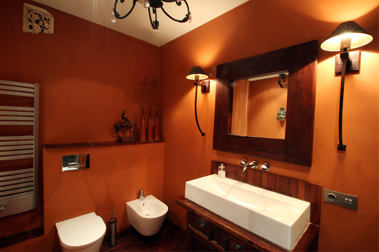 Eclectic style bathroom by 2kul INTERIOR DESIGN Eclectic Wood Wood effect