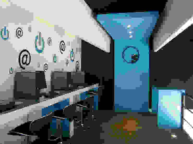 PRINTEX Espacios comerciales de estilo moderno de Studio 360 Moderno