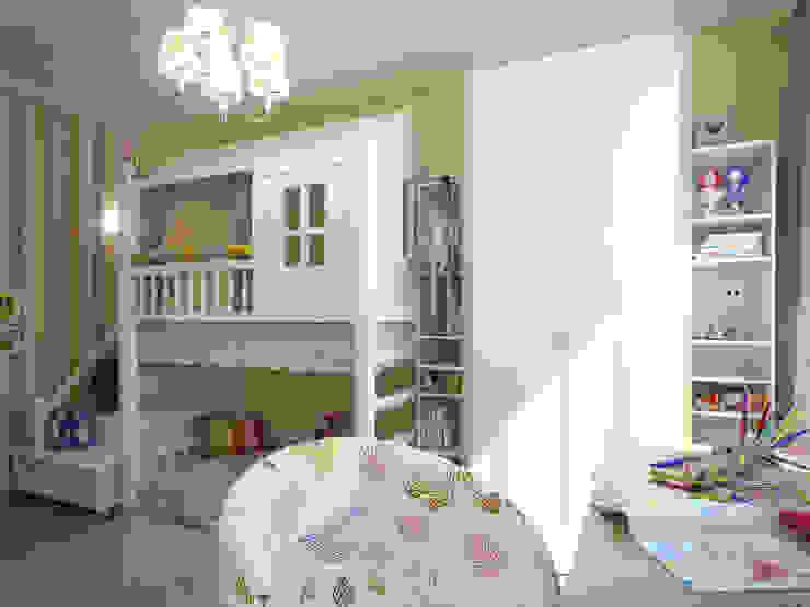 Детская для девочки Детские комната в эклектичном стиле от Details, design studio Эклектичный