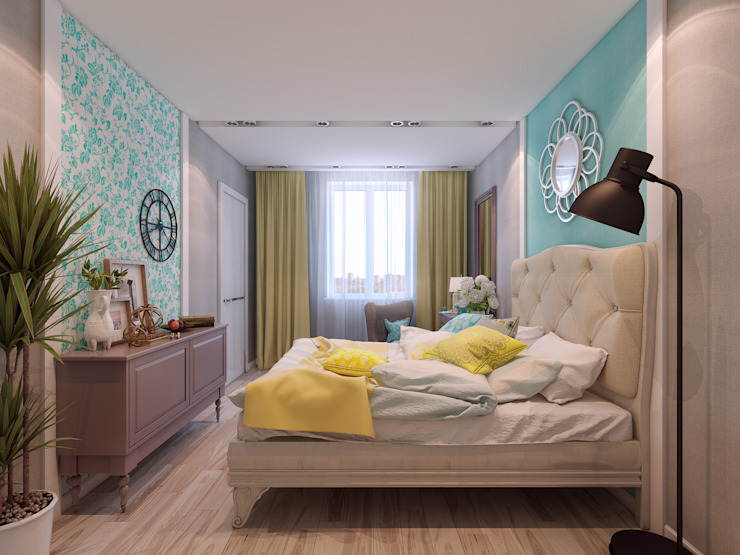 Eclectic style bedroom by Details, design studio Eclectic