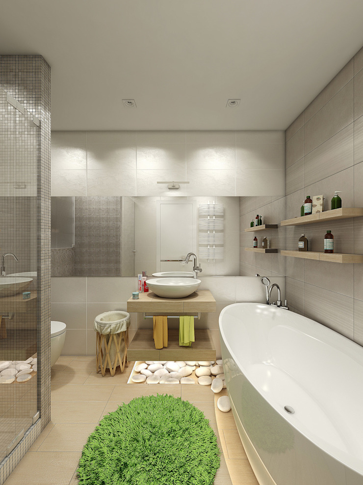 Eclectic style bathrooms by Details, design studio Eclectic