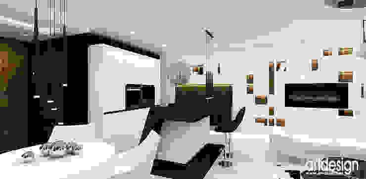 otwarta kuchnia Nowoczesna kuchnia od ARTDESIGN architektura wnętrz Nowoczesny