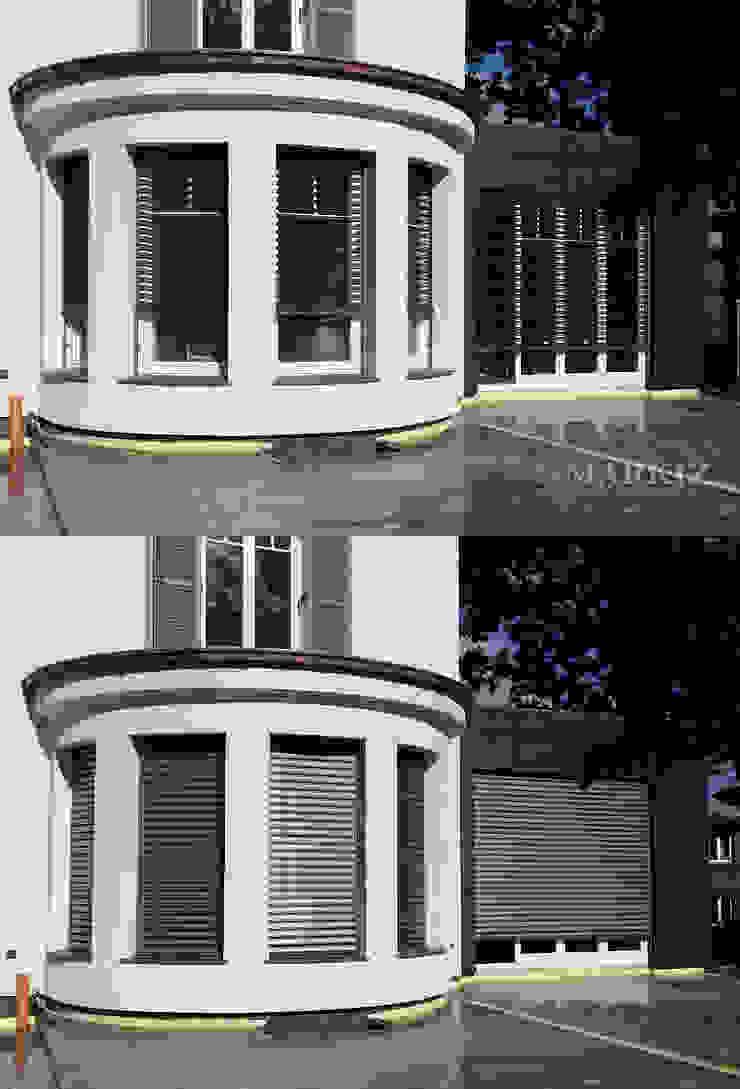 Żaluzje fasadowe od Markiz Serwis Nowoczesny Aluminium/Cynk