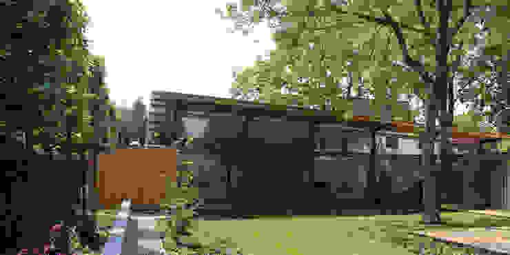 verandahuis helmond Moderne huizen van LAM a r c h i t e c t s Modern Glas