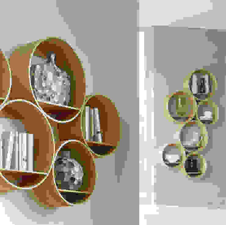 Kißkalt Designs غرفة السفرةخزانة النبيذ خشب