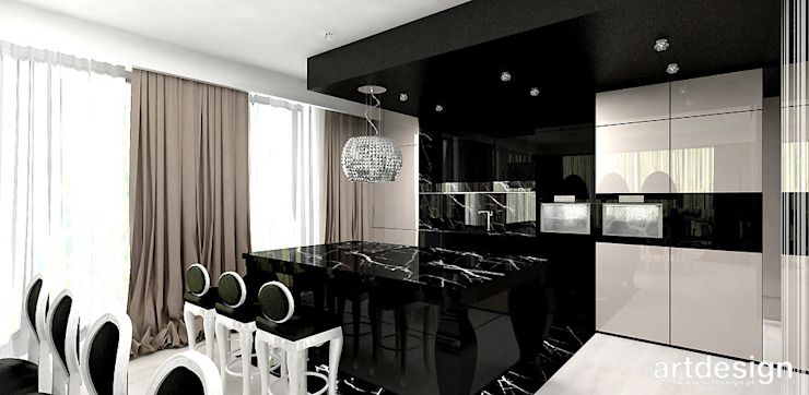 Modern style kitchen by ARTDESIGN architektura wnętrz Modern