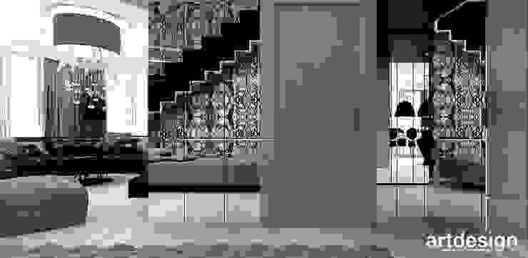 Коридор, прихожая и лестница в модерн стиле от ARTDESIGN architektura wnętrz Модерн