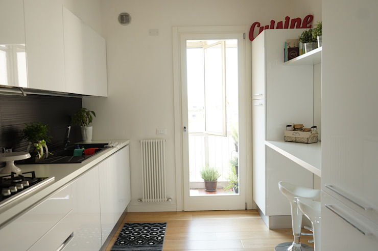 Appartamento G+S Cucina moderna di Andrea Gaio Design Moderno