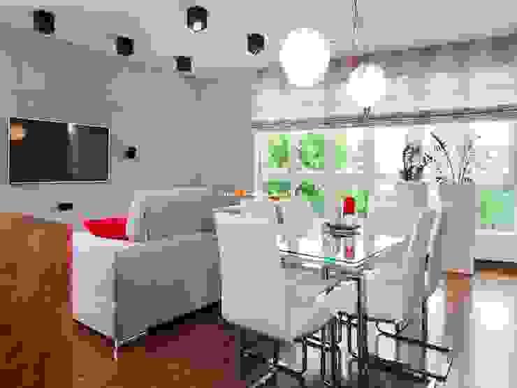 Salon moderne par MYSprojekt projektowanie wnętrz Moderne